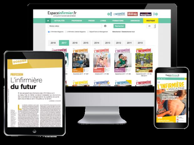 Abonnement revues infirmière numériques