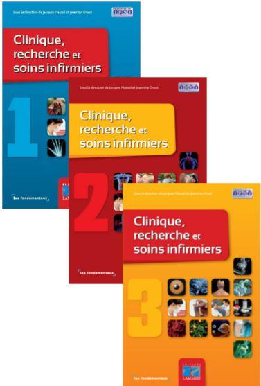 Pack Clinique recherche et soins infirmiers, Tomes 1, 2 et 3
