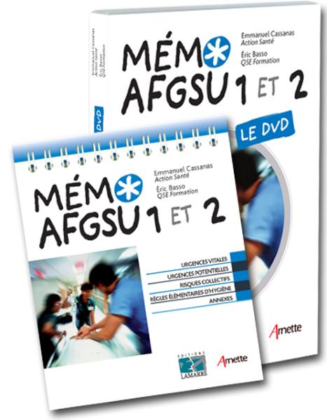 Pack Mémo AFGSU 1 et 2 + DVD