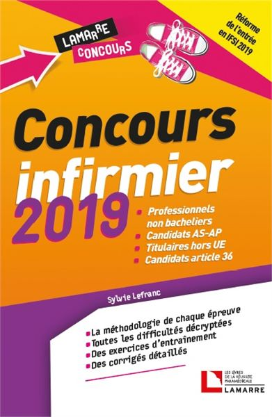 Concours infirmier 2019