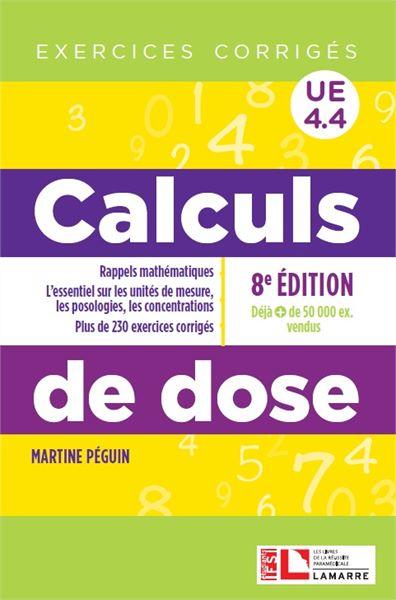 Calculs de dose - 8e édition