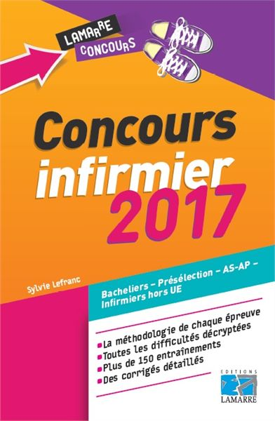 Concours infirmier 2017