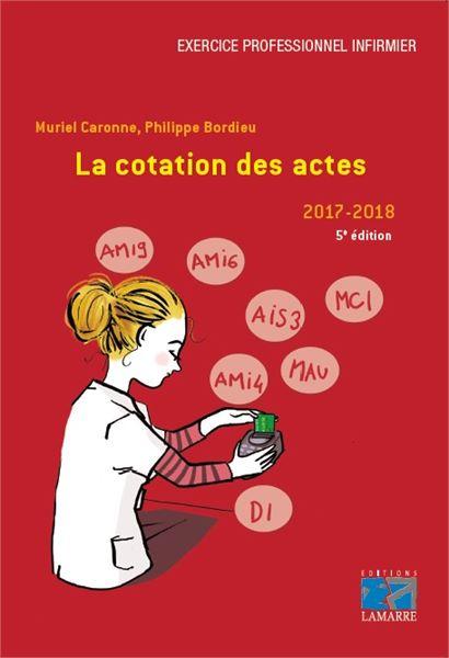 La cotation des actes 2017-2018