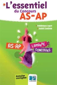 L'essentiel du concours AS-AP