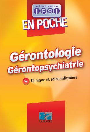 Gérontologie, Gérontopsychiatrie