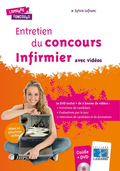 Entretien du concours infirmier avec vidéos