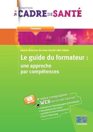 Le guide du formateur : une approche par compétences