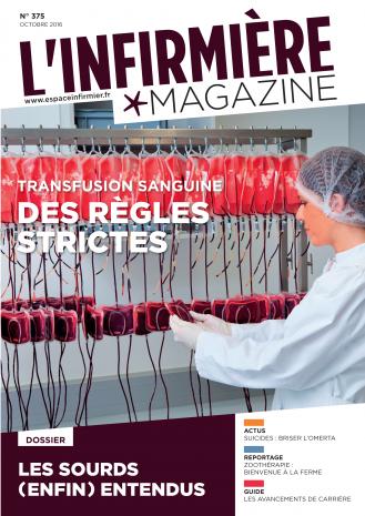 L'Infirmière Magazine couverture