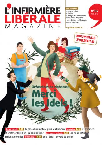 L'Infirmière Libérale Magazine couverture