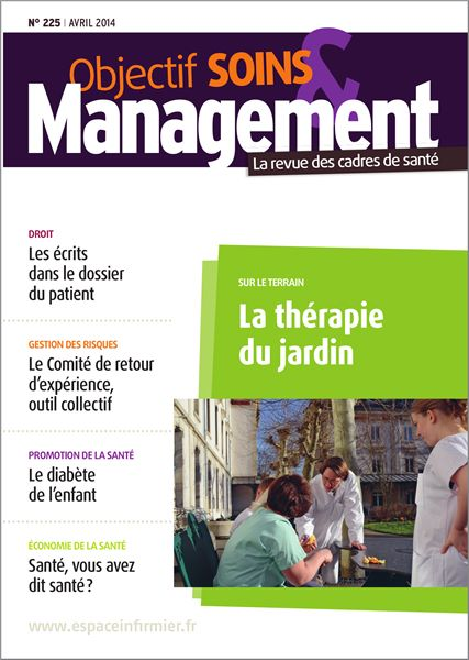 Revue Objectif Soins et Management