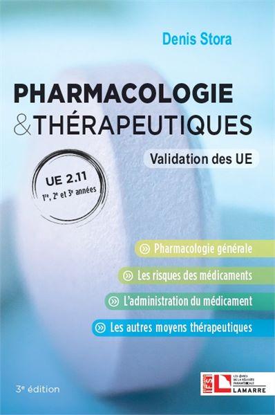 Pharmacologie & thérapeutiques - UE 2.11