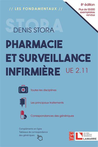 Pharmacie et surveillance infirmière - 8e édition