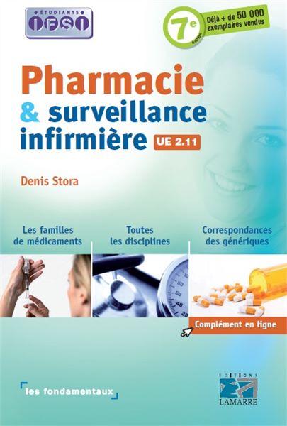 Pharmacie et surveillance infirmière