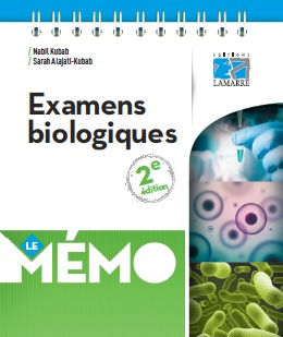 Examens biologiques Le Mémo