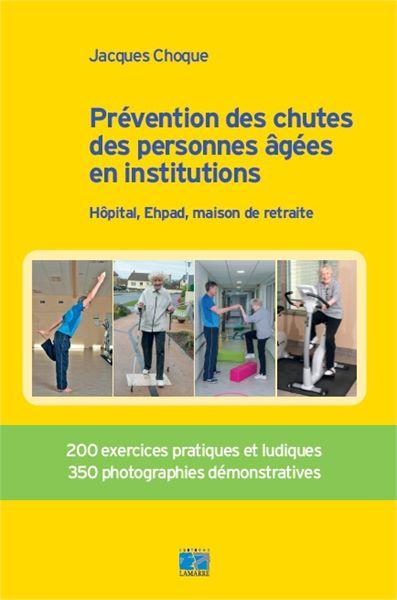 Prévention des chutes des personnes âgées en institutions