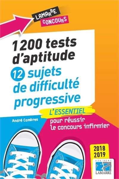 1200 tests d'aptitude. 12 sujets de difficulté progressive