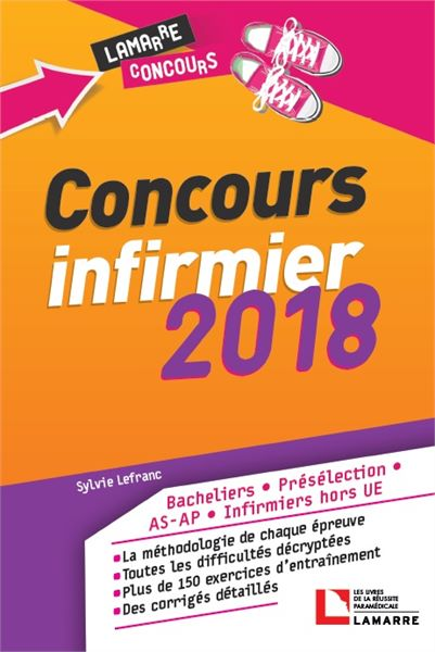 Concours infirmier 2018
