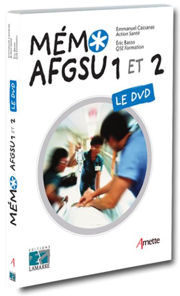 DVD Mémo AFGSU 1 et 2
